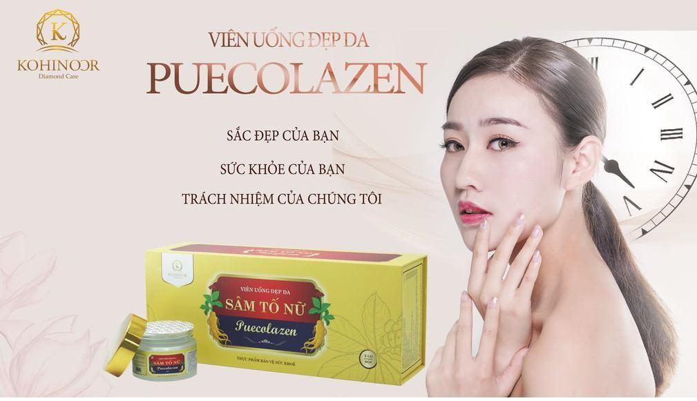 công dụng của sâm tố nữ collagen